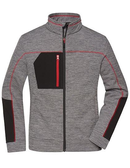 James+Nicholson - Ladies' Structure Fleece Jacket