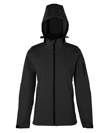 HRM - Women´s Hooded Soft-Shell Jacket