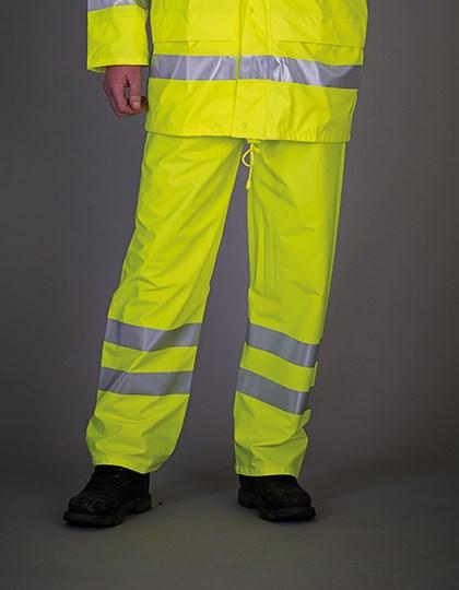 YOKO - Hi-Vis Soft Flex Breathable Rain Trousers