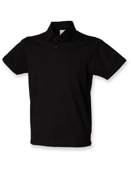 SF Men - Men`s Short Sleeved Stretch Polo