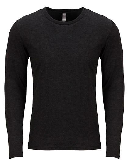 Next Level Apparel - Men`s Long Sleeve Tri-Blend T-Shirt