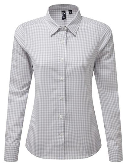 Premier Workwear - Maxton Check Womens Long Sleeve Shirt