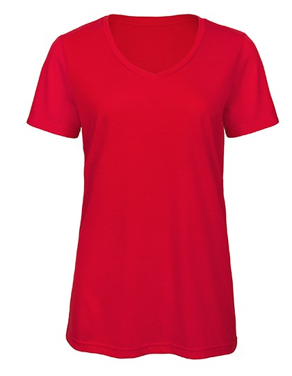 B&C - V-Neck Triblend T-Shirt /Women