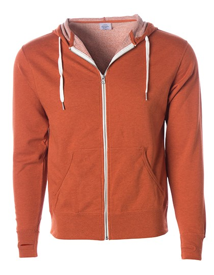 Independent - Unisex Midweight French Terry Zip Hood