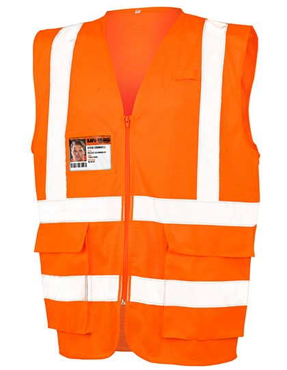 Result Safe-Guard - Executive Cool Mesh Safety Vest