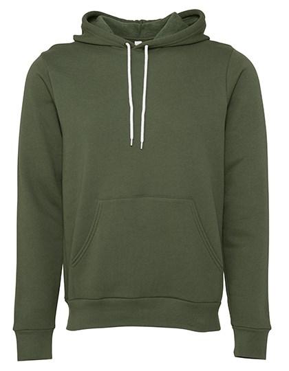 Canvas - Unisex Pullover Poly-Cotton Fleece Hoodie
