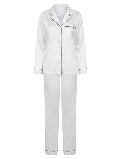 Towel City - Ladies Satin Long Pyjamas
