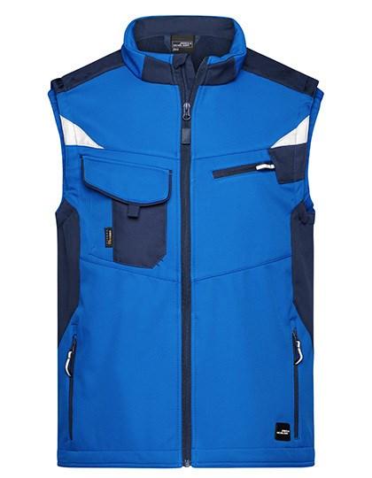 James+Nicholson - Workwear Softshell Vest -STRONG-