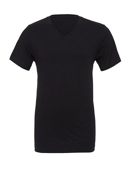 Canvas - Unisex Jersey Short Sleeve V-Neck Tee