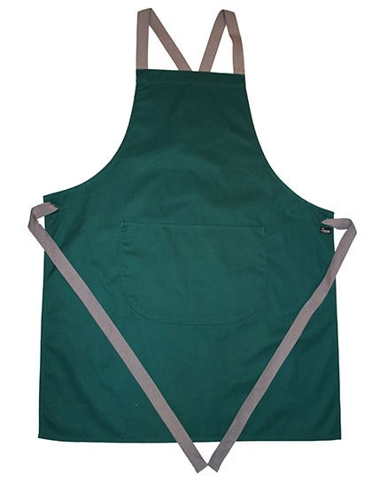 Dennys London - Apron with Grey Ties Crossover
