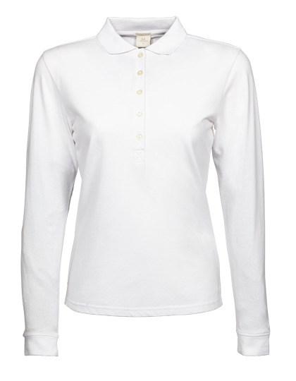 Tee Jays - Womens Luxury Stretch Long Sleeve Polo