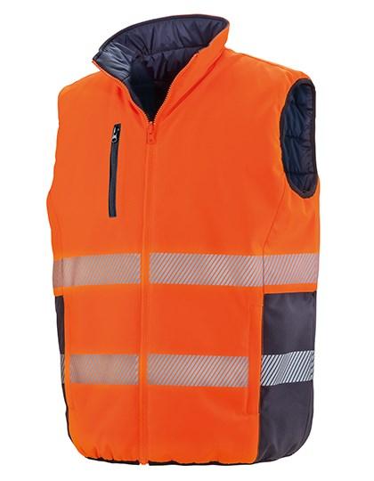 Result Safe-Guard - Reversible Soft Padded Safety Gilet