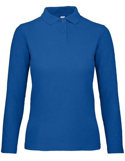 B&C - Long Sleeve Polo ID.001 / Women
