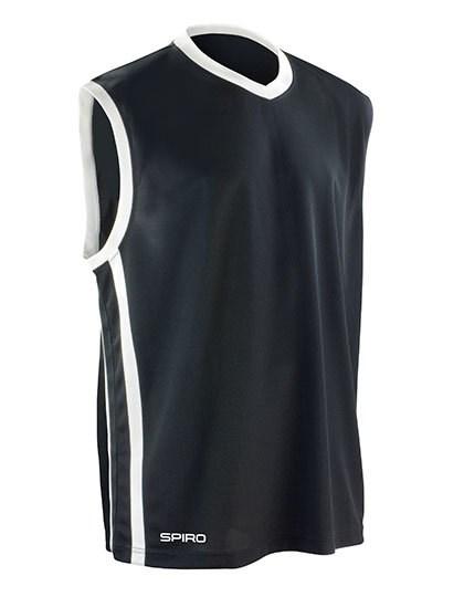 SPIRO - Basketball Men`s Quick Dry Top