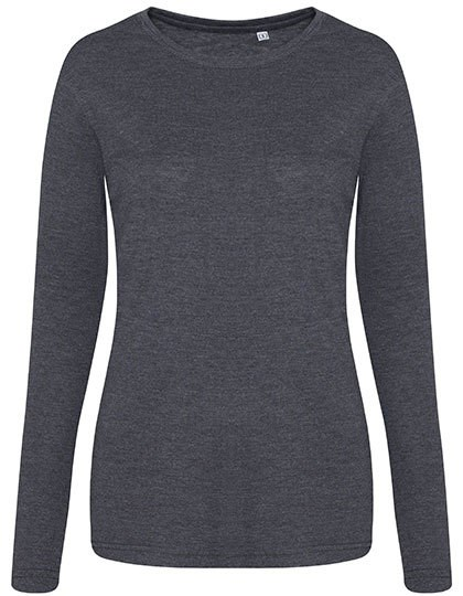 Just Ts - Longsleeve Women´s Tri-Blend T
