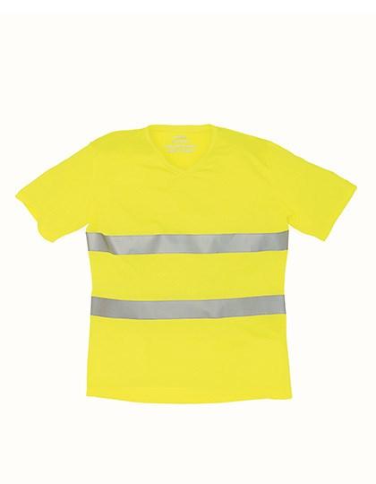 YOKO - Hi Vis Top Cool Super Light V-Neck T-Shirt