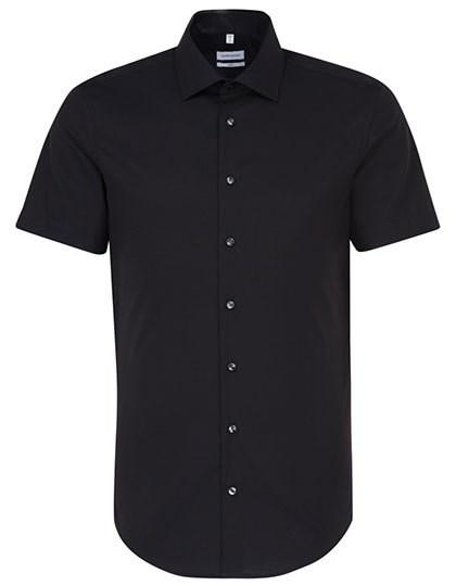 Seidensticker - Men`s Shirt Slim Fit Shortsleeve