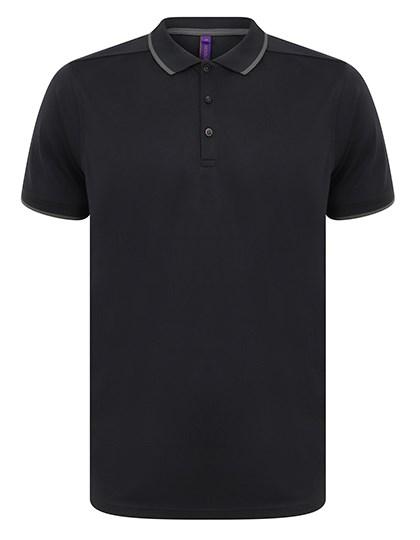 Henbury - Men´s HiCool® Tipped Polo Shirt