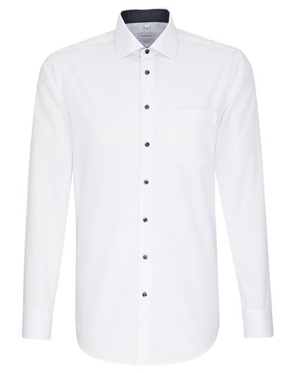 Seidensticker - Men`s Shirt Poplin Regular Fit Longsleeve