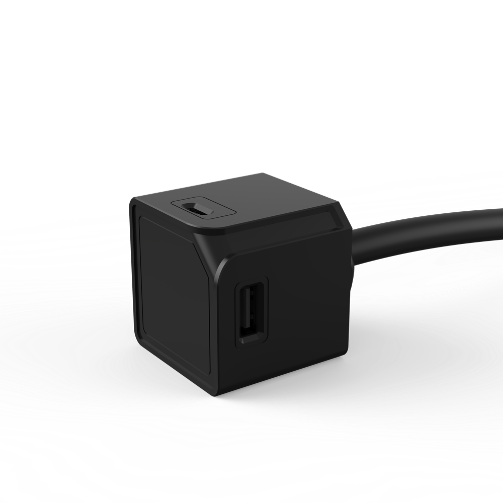 USB Cube Extended USB A+C, 1.5mtr cable