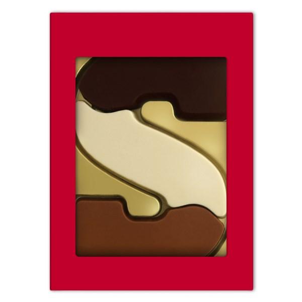 Luxe chocoladeletter S Smaken verschillen