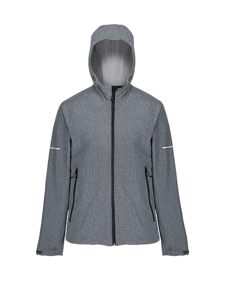 Regatta Prolite Stretch Softshell SealGreyMarl S