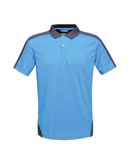 Regatta Contrast Wicking Polo NewRoyal/Nvy 4XL