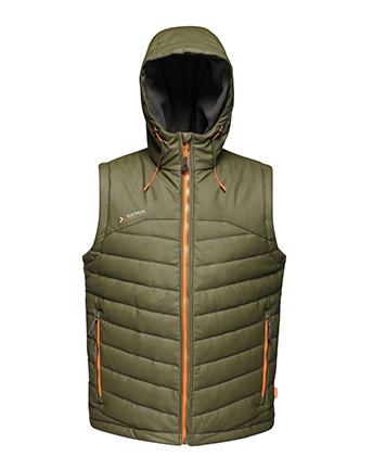 Regatta Calculate Insulated Hooded B/warmer Dark Khaki S