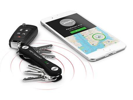 KeySmart Pro with Tile Smart Black