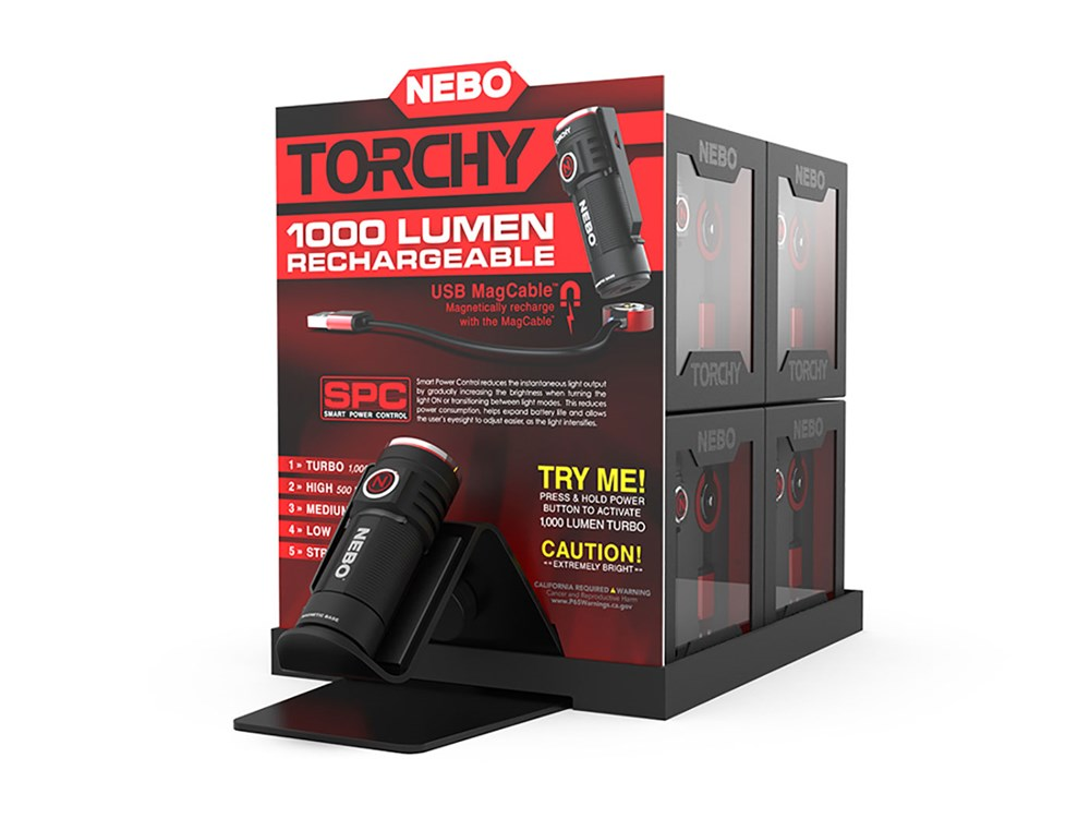 Nebo Torchy Display 16st