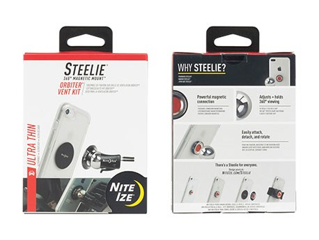 Nite Ize Steelie Orbiter Vent Mount Kit Magnetic Mount