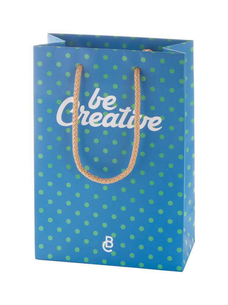 CreaShop S - custom made, papieren winkeltas. klein.