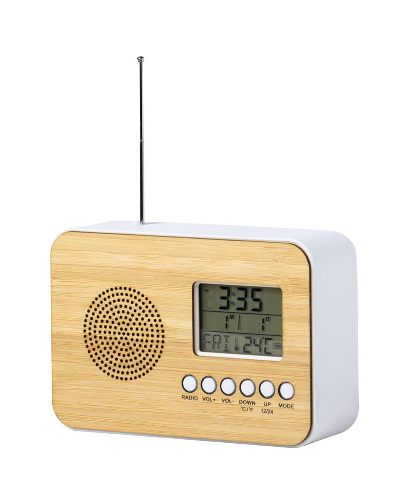 Tulax - radio bureauklok