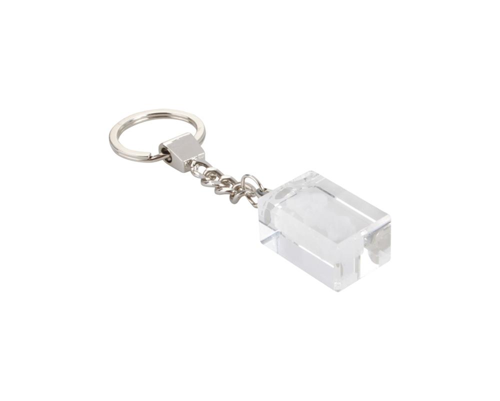 Glass - sleutelhanger