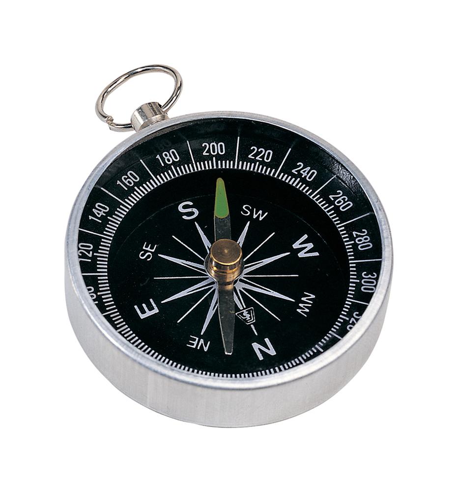 Nansen - metalen kompas met sleutelring