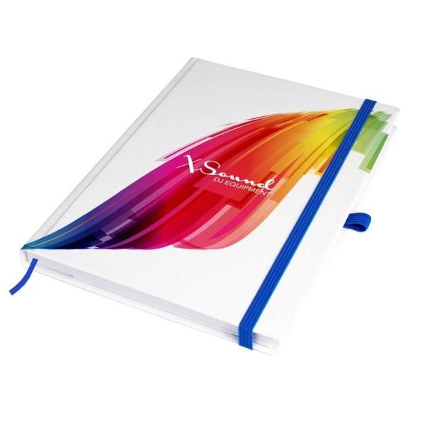 A5 hardcover notitieboekje met wit papier