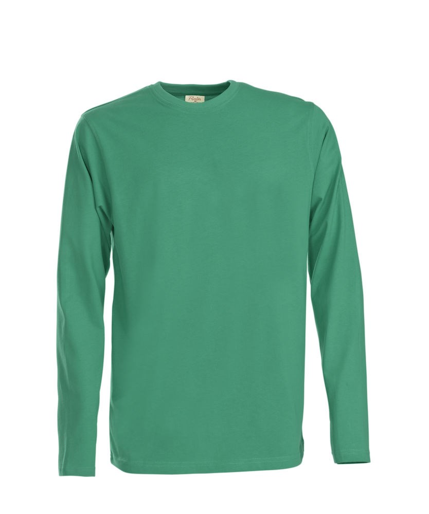 PRINTER HEAVY T L/S GREEN S