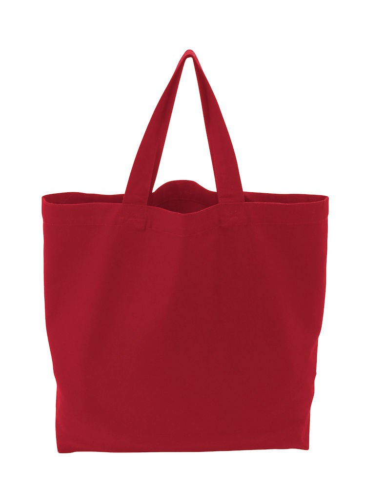 TOTE BAG HEAVY/L RED