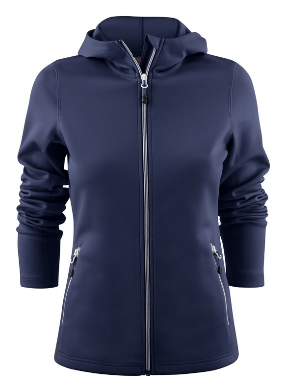 PRINTER LAYBACK LADY HOODED JACKET NAVY XS