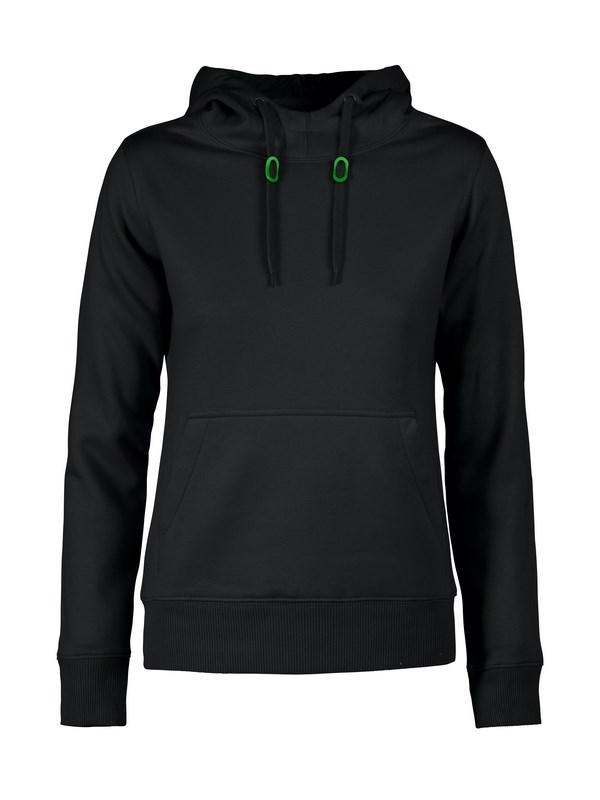 PRINTER FASTPITCH LADY HOODED SWEATER BLACK M