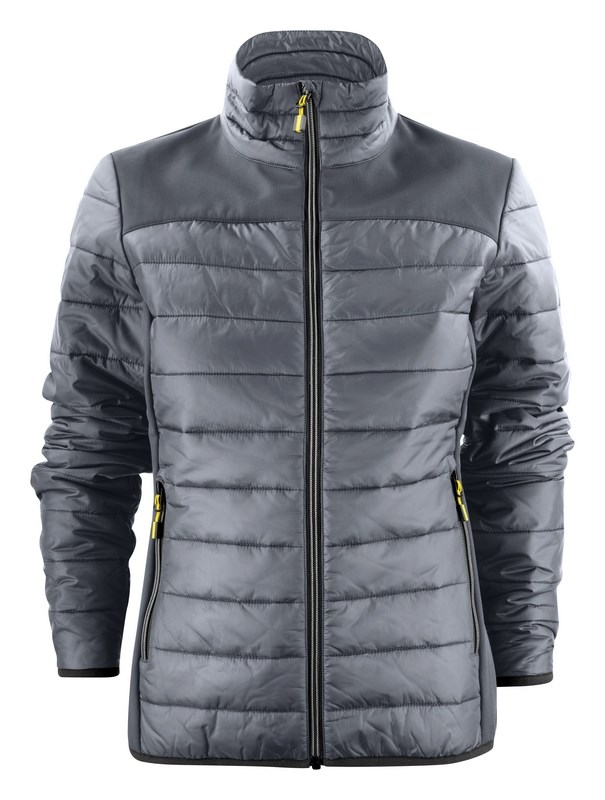 PRINTER EXPEDITION LADY JACKET STEEL GREY S