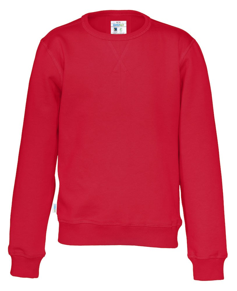 CREW NECK KID RED 140