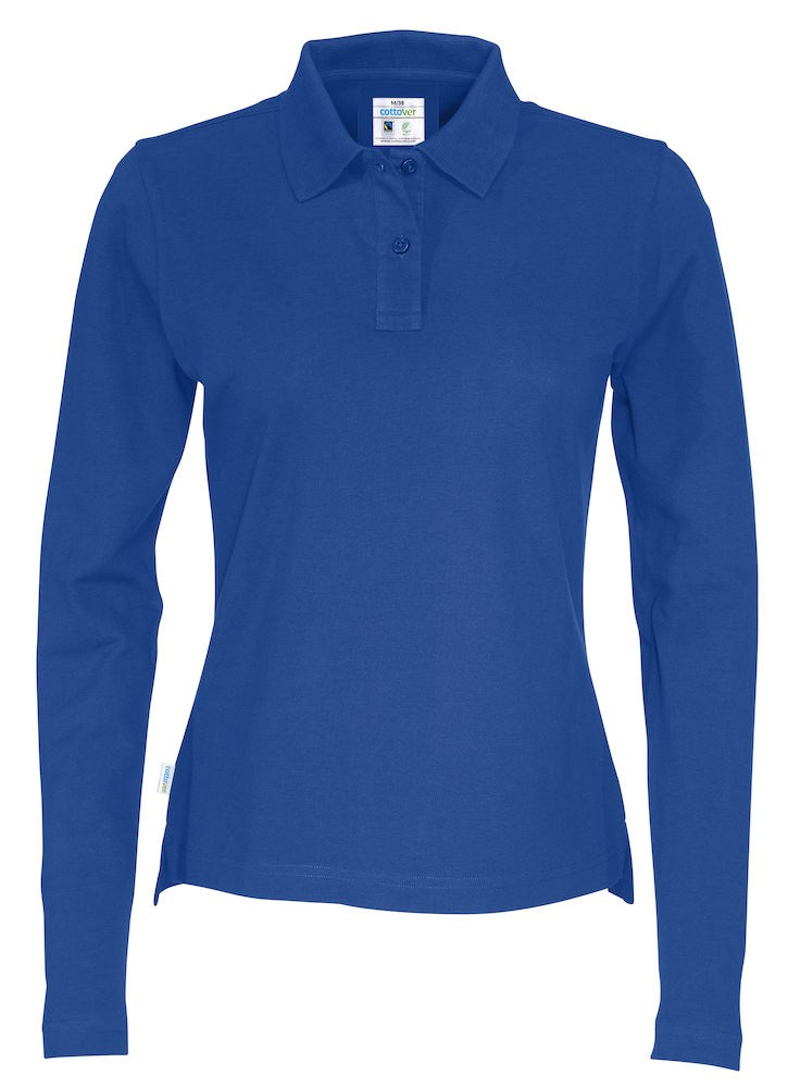 PIQUE LONG SLEEVE LADY ROYAL M