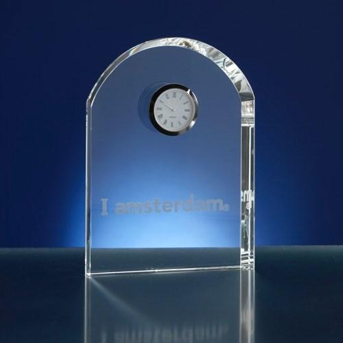 Klokje van glas/kristal