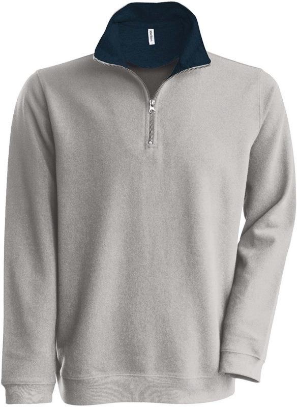 Kariban Trucker - Ritskraagsweater