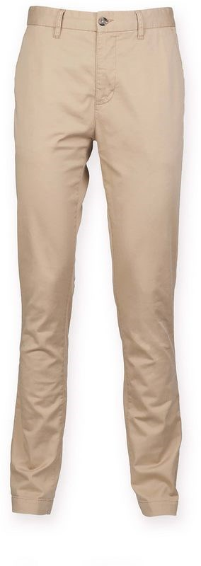Front Row Men's Stretch Chino Trousers