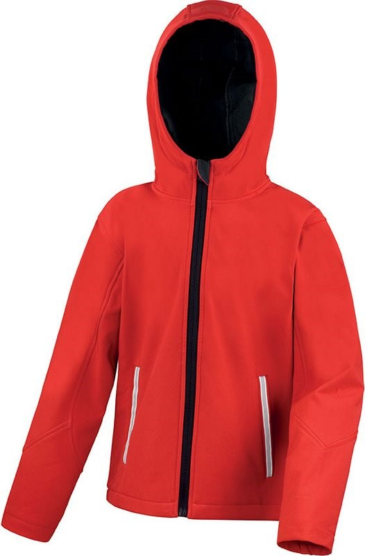 Result Kids Tx Performance Hooded Softshell Jacket
