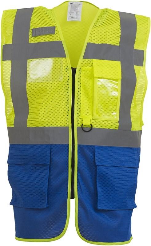 Yoko Top Cool - Hi-Vis mesh executive waistcoat