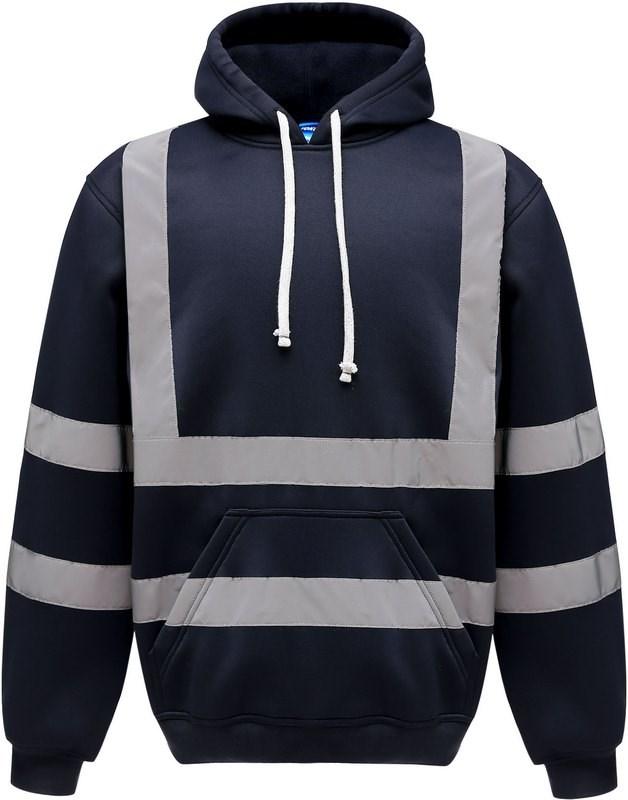 Yoko Hi-Vis pullover hoodie