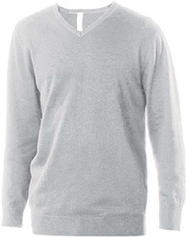 Kariban Heren pullover met v-hals